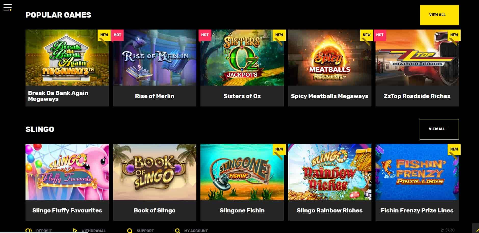 Hyper Casino games-min