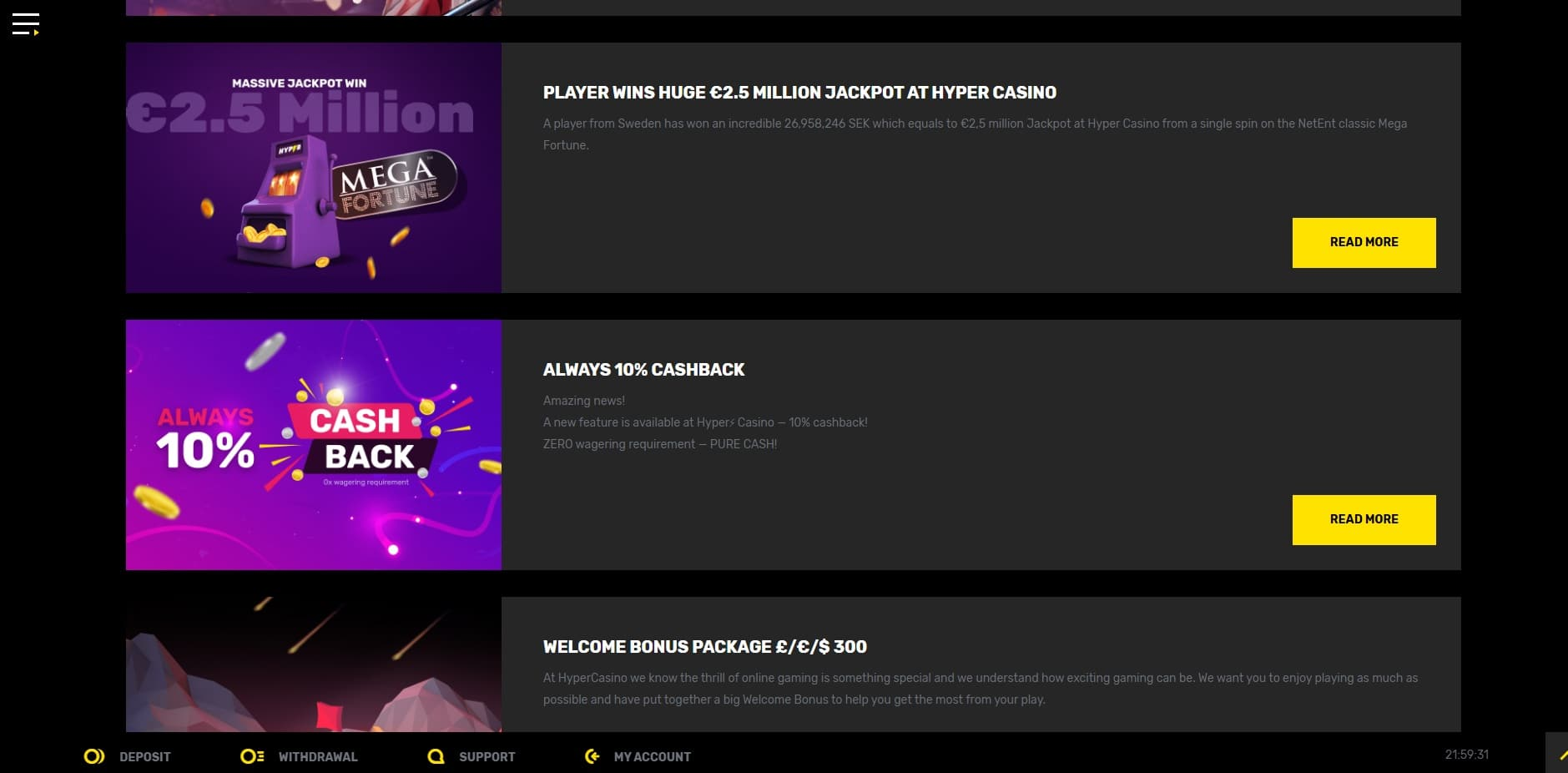 Hyper casino promotions-min