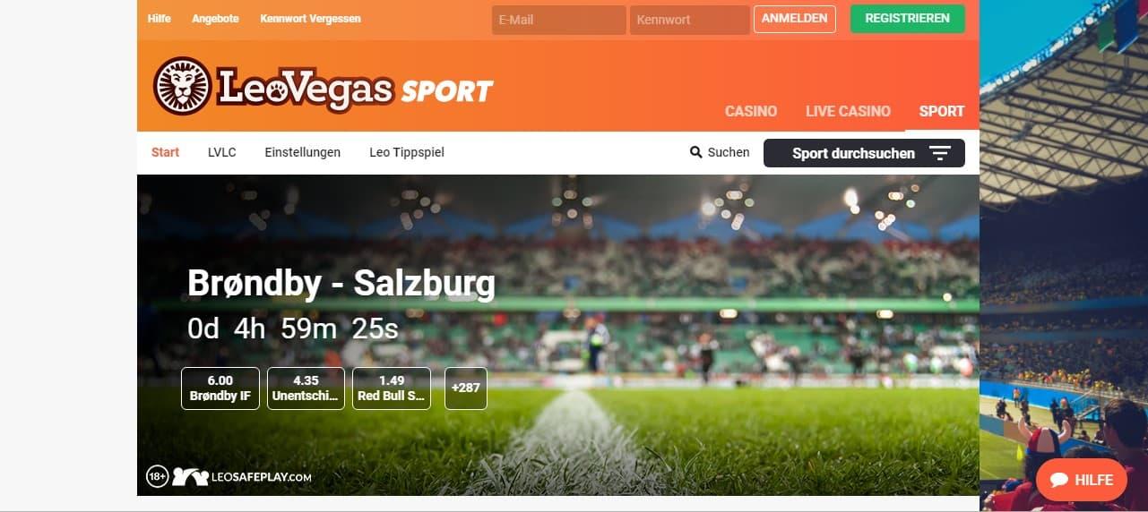 LeoVegas Casino Sport