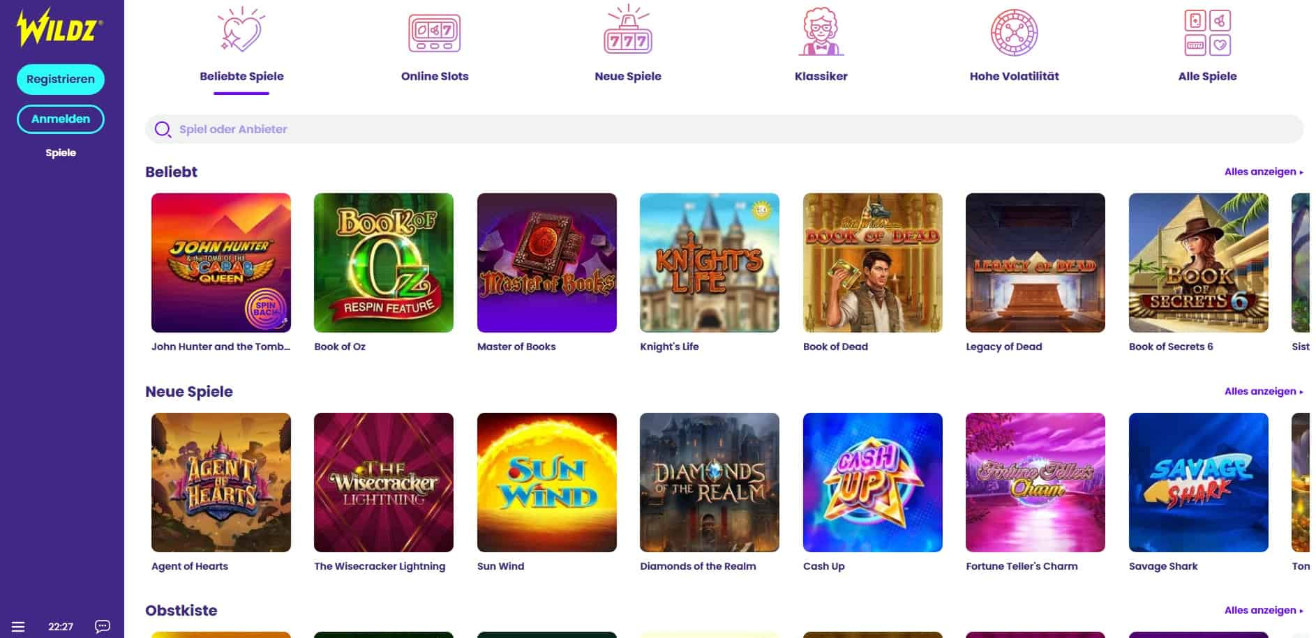 Wildz casino new-min