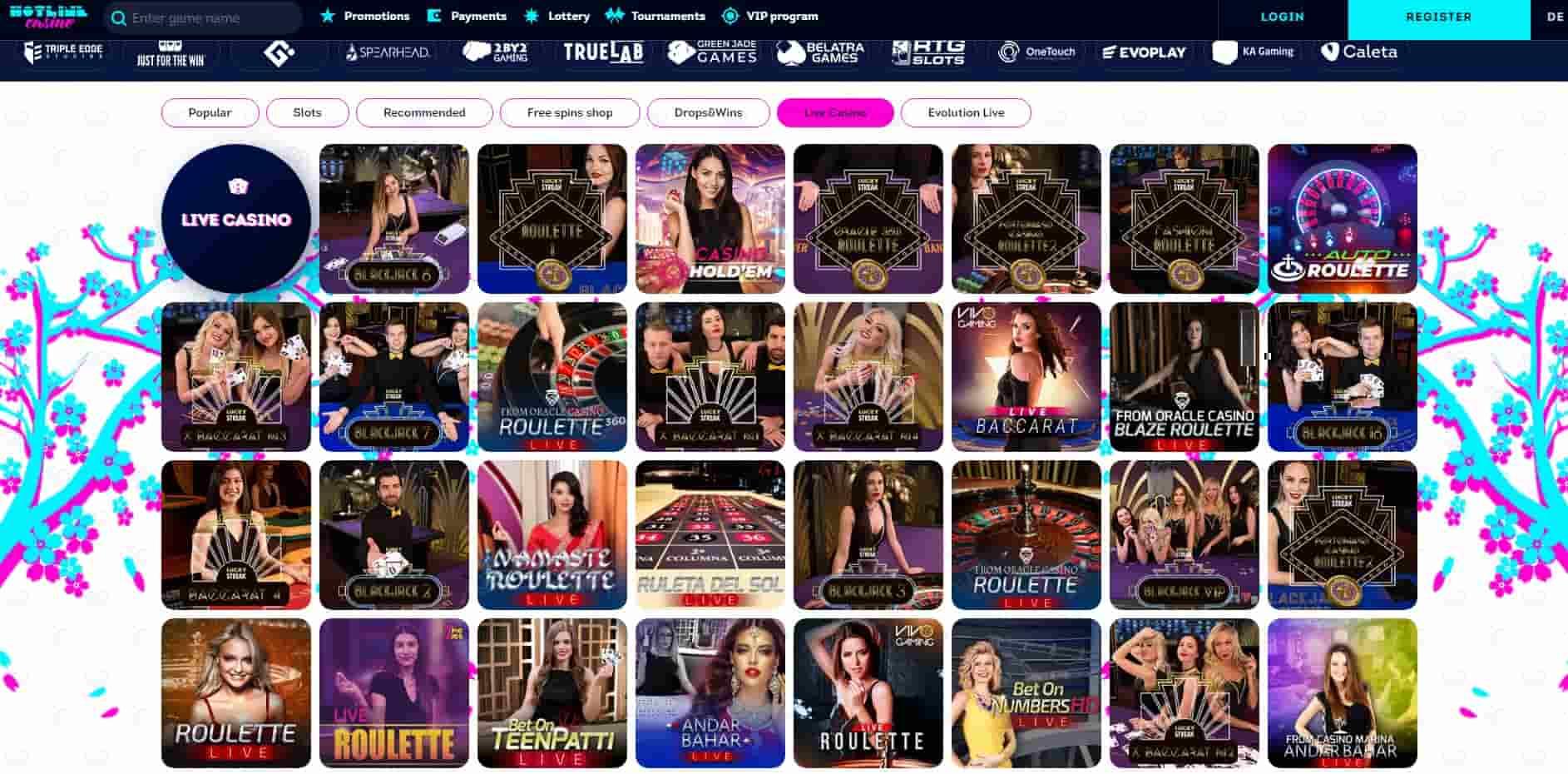 Hotline Casino live -min