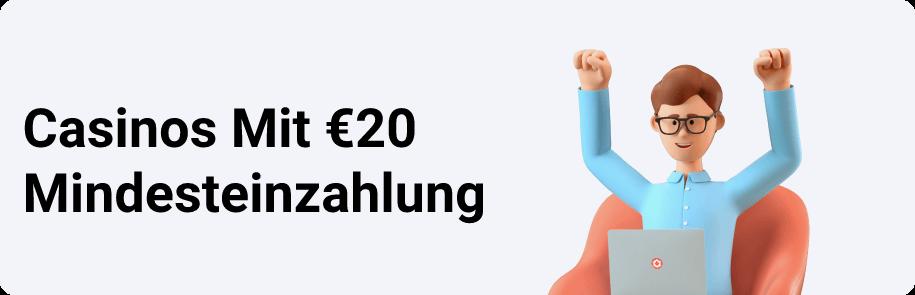 Casinos Mit €20 Mindesteinzahlung