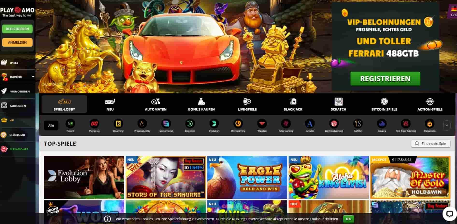 PlayAmo Casino home-min