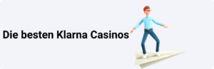Die besten Klarna Casinos