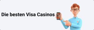 Die besten Visa Casinos