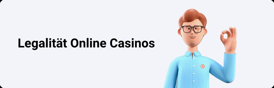Legalität Online Casinos in Österreich
