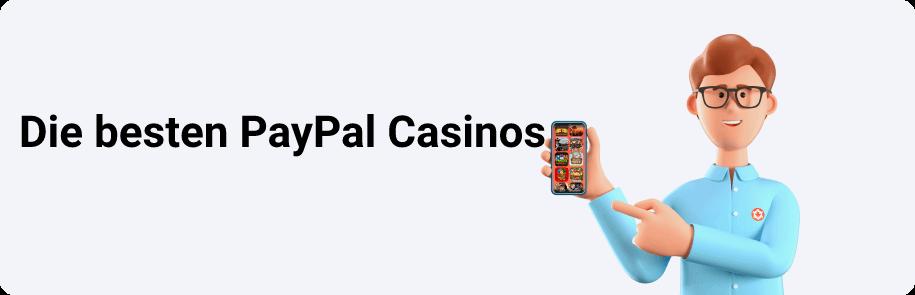 Die besten PayPal Casinos
