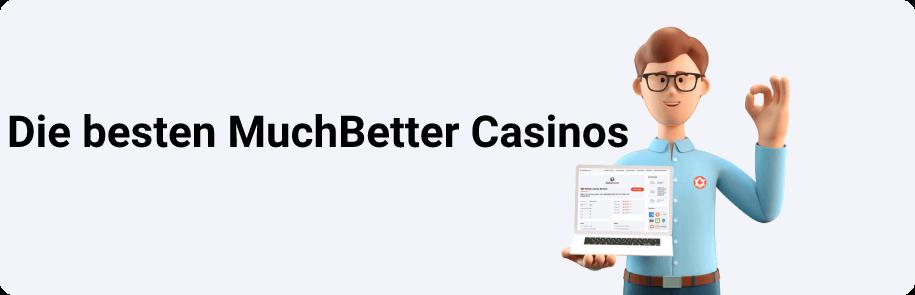 Die Besten MuchBetter Casinos
