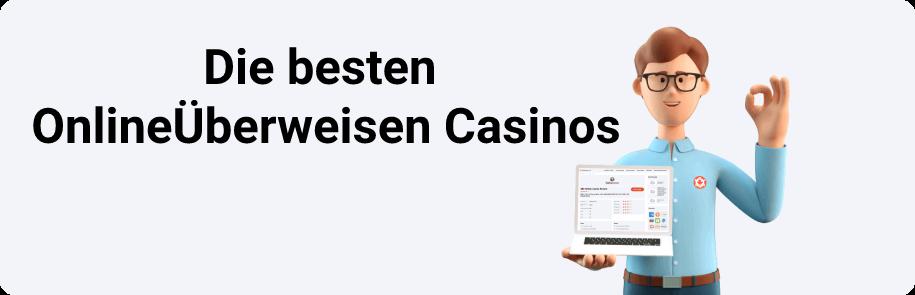 Die besten OnlineÜberweisen Casinos