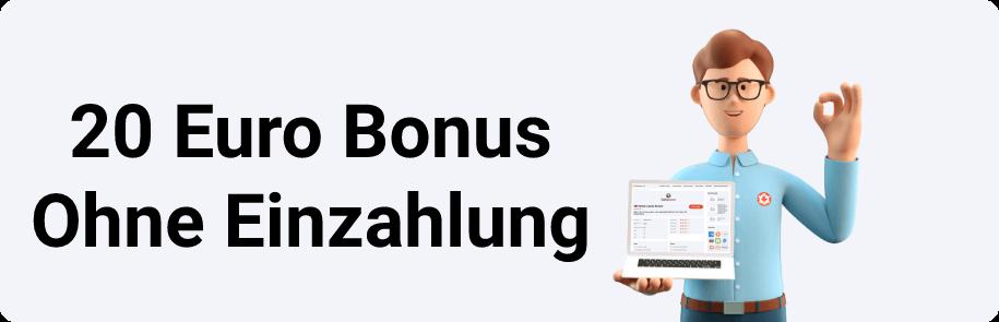 20 Euro Bonus Ohne Einzahlung
