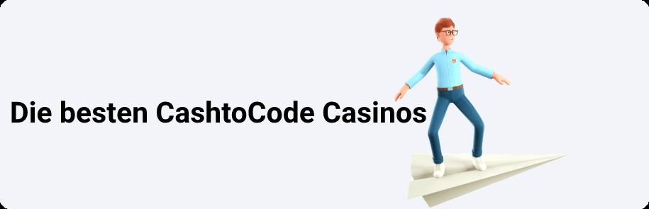 Die besten CashtoCode Casinos