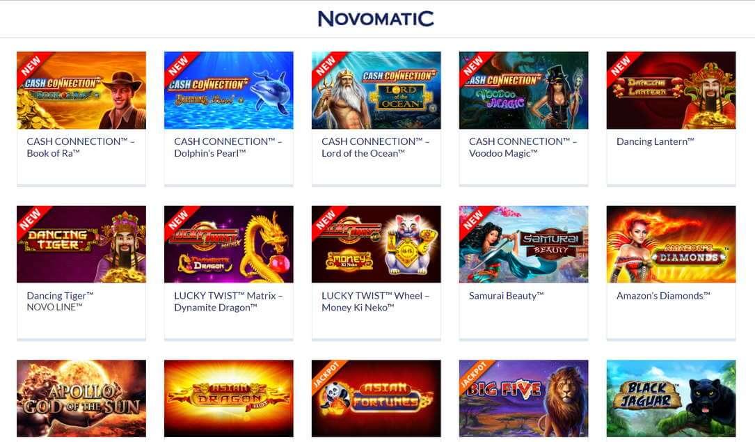 besten Spiele Novomatic